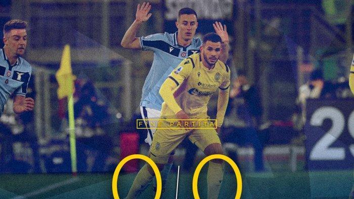 Hasil Liga Italia Lazio vs Hellas Verona, Hanya Raih Hasil Seri Lazio Gagal Salip Posisi Inter Milan