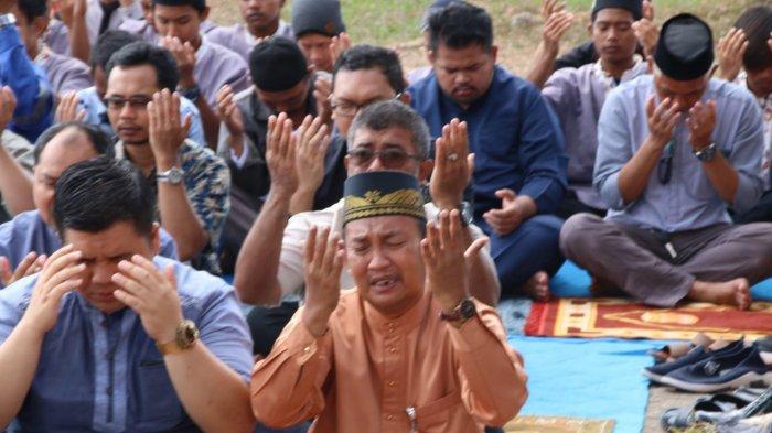 Meski Zona Hijau Covid-19, Isdianto Minta Warga Terapkan Protokol Kesehatan saat Salat Id di Masjid