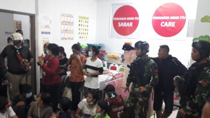 Petugas grebek gudang penyimpanan TKI di ruko pertokoan Ciptaland, Sekupang Batam