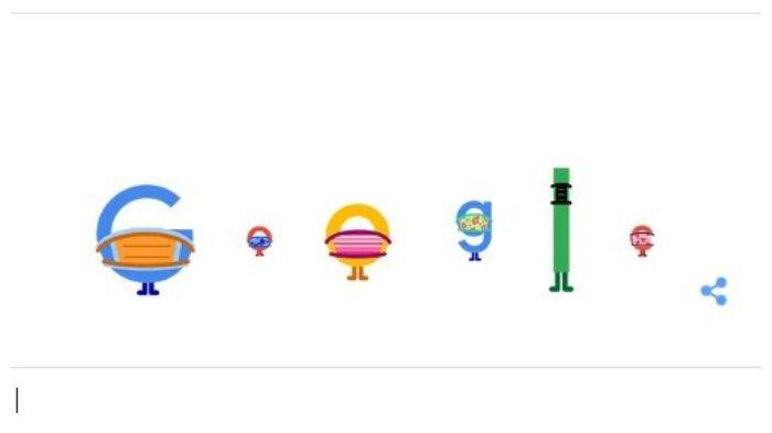 Mengapa Huruf Google Hari Ini Jaga Jarak dan Pakai Masker? Pengingat Pencegahan Covid-19