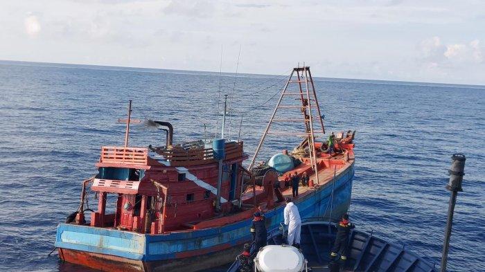 100 Hari Kinerja Menteri Trenggono, 67 Kapal Illegal Fishing Ditangkap di Perairan Indonesia