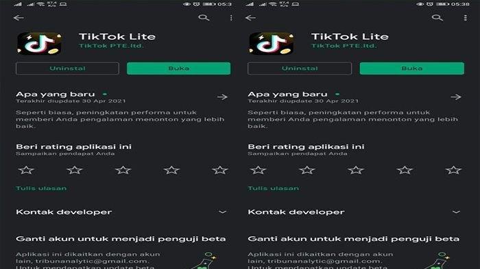 Tiktok Lite Aplikasi Penghasil Uang Terbaru, Saldo Dapat Ditarik Pakai OVO dan DANA