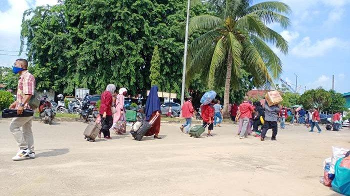Kantong GeNose Habis, KM Kelud Molor 1 Jam di Pelabuhan Batu Ampar Batam