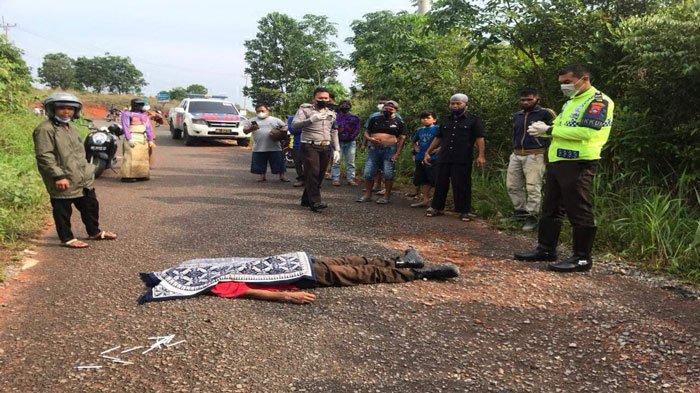 BREAKING NEWS - Seorang Pria di Bintan Ditemukan Tergeletak Tak Bernyawa di Jalan