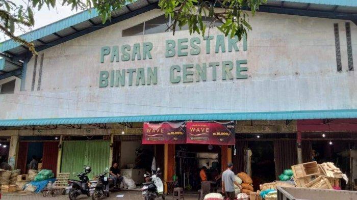 Kondisi Terkini Pasar Bintan Centre Tanjungpinang Pasca Tes Antigen Acak di Pasar