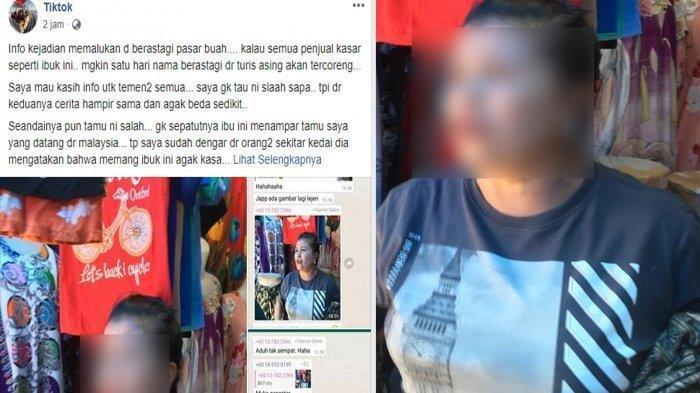 Gara-gara Batal Beli, Turis Malaysia Ditampar Pedagang Buah di Berastagi