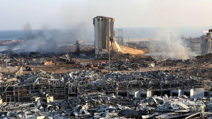 Ledakan Dahsyat Lebanon Bisa Terjadi di KEPRI, Ratusan Ton Amonium Nitrat Tenggelamkan KARIMUN BESAR