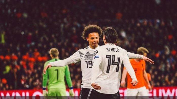 LIVE Streaming Mola TV Jerman vs Belanda Kualifikasi Euro (Piala Eropa) 2020, Kick Off 01.45 WIB