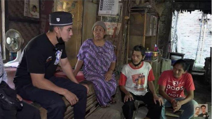 Tak Tega Pekerjanya Tinggal di Gubuk Reyot, Janji Baim Wong Renovasikan Rumah Disambut Tangis