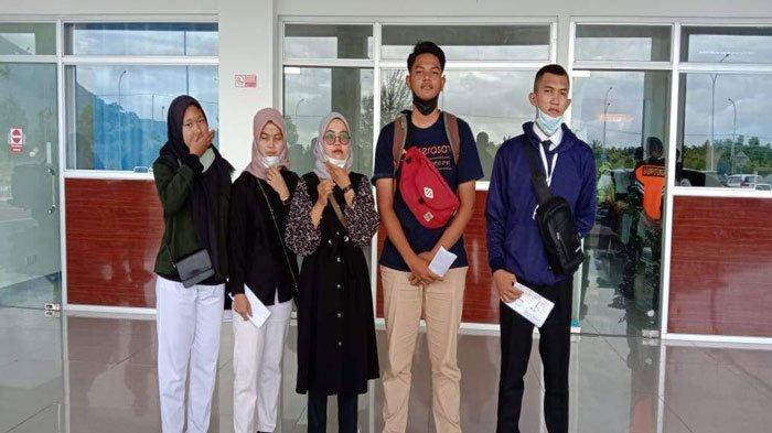 Lima Putra Daerah Natuna Kepri Dikirim ke Cepu Jawa Tengah Ikut Pelatihan Migas