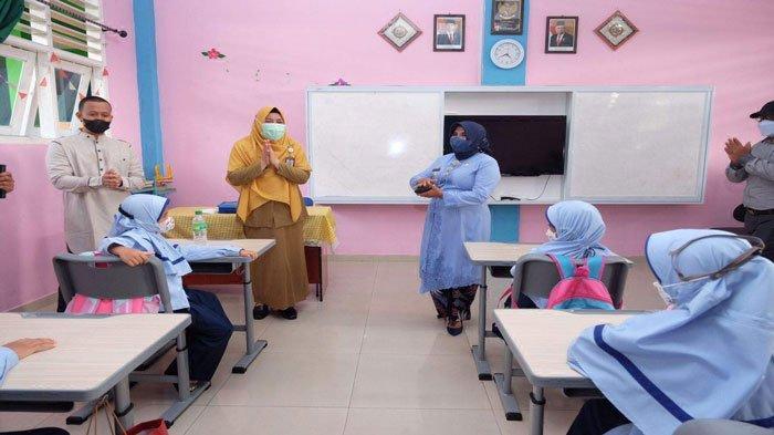 Wali Kota Tinjau Pelaksanaan PTM di SDIT Al Madinah Tanjungpinang