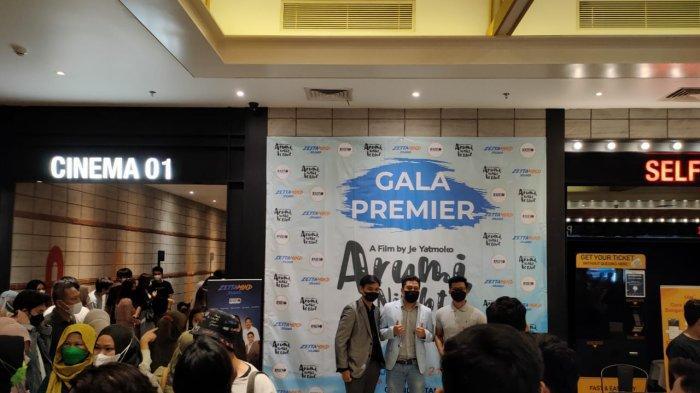 GALA Premiere Film 'Arumi, Night is Blue', Karya Asli Anak Batam Digelar di CGV Grand Mall