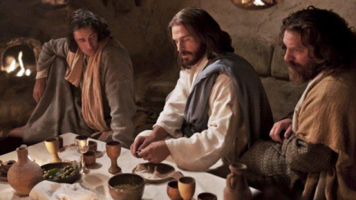 ILUSTRASI - Yesus dalam Perayaan Ekaristi 2