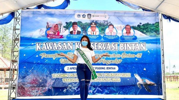 Miss Earth Kepri 2019 Ajak Milenial Jaga Kelestarian Laut: Anak Muda Harus Ambil Peran