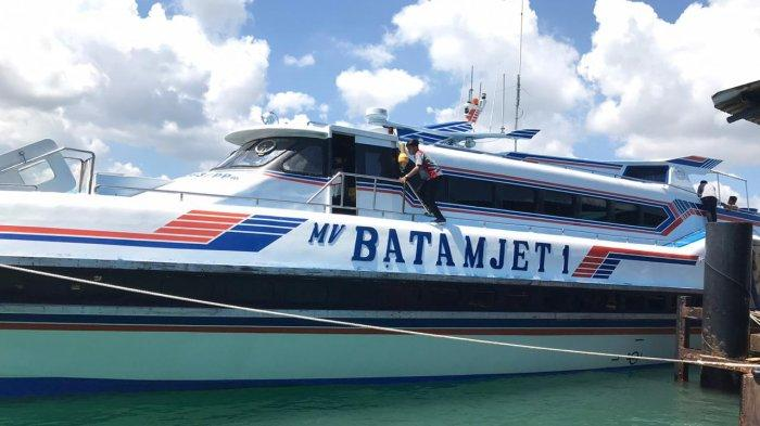 Kapal Batam Jet Beroperasi Hari Ini, Antisipasi Peningkatan Penumpang di Pelabuhan Domestik Sekupang