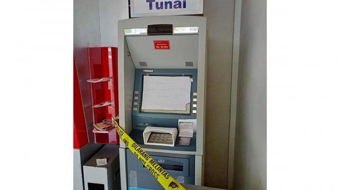 Mesin ATM Diduga Dibobol Maling, Polisi Benarkan Pihak Bank Malah Membantahnya