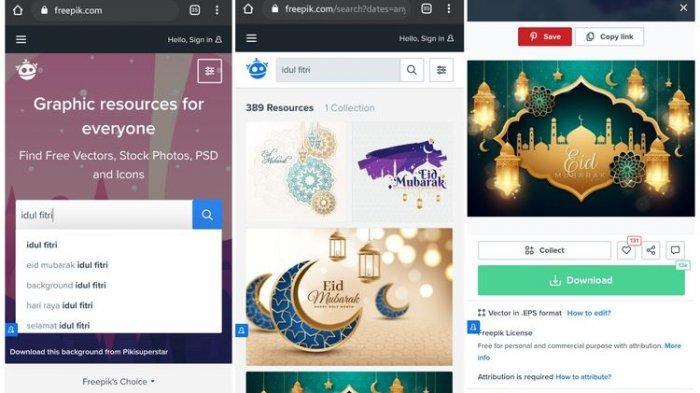 Cara Membuat Sendiri Kartu Lebaran Digital untuk Ucapan Idul Fitri 1442 H Bisa Pakai Aplikasi Ini