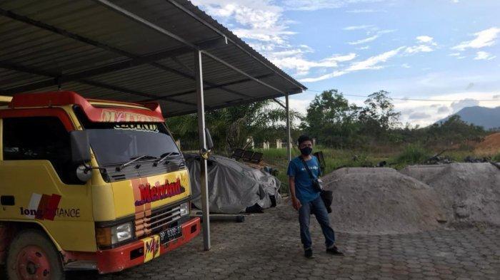 Satreskrim Polres Bintan Amankan Satu Lori, Penertiban Tambang Pasir di Desa Gunung Kijang