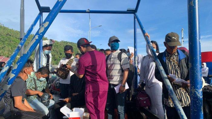 Belasan Penumpang Nyaris Gagal Berangkat Tinggalkan Anambas saat Larangan Mudik Lokal