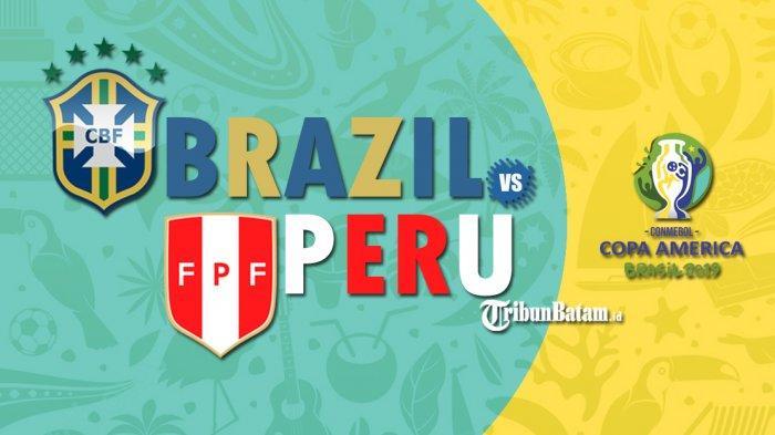 SEDANG BERLANGSUNG Live Streaming TV OnlineFinal Copa America 2019,Brasil vs Peru,via KVision TV