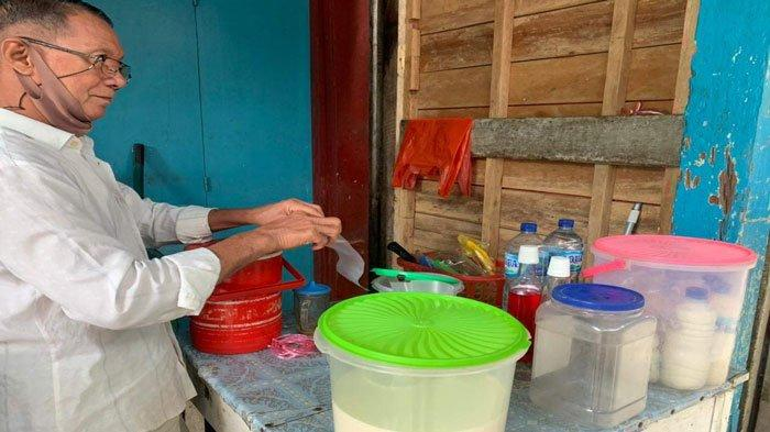 Kisah Penjual Air Tahu di Anambas Bertahan Hidup di Tengah Pandemi Covid-19