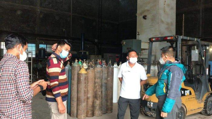 Stok Oksigen Medis di Bintan Masih Aman, Satgas Pangan Pantau 2 Distributor