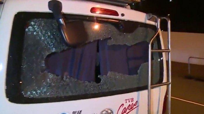 Demo Hong Kong Makin Liar, Mobil Milik Stasiun TV Dihancurkan