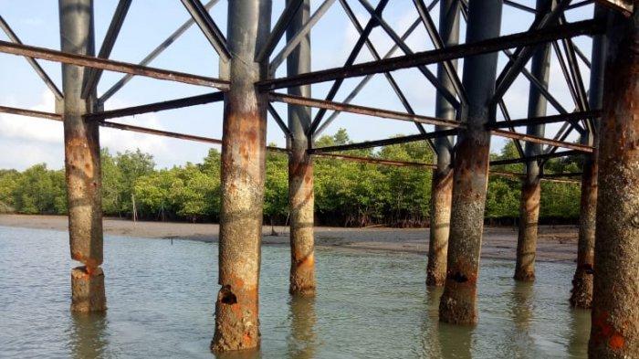 Terungkap, 221 Tiang Jembatan II Dompak Tanjungpinang Rusak, 40 Tiang Keropos Parah