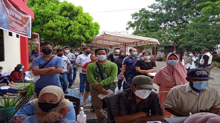 Vaksinasi Corona di Batam, Polsek Bengkong Data Calon Penerima Vaksin lewat Kelurahan