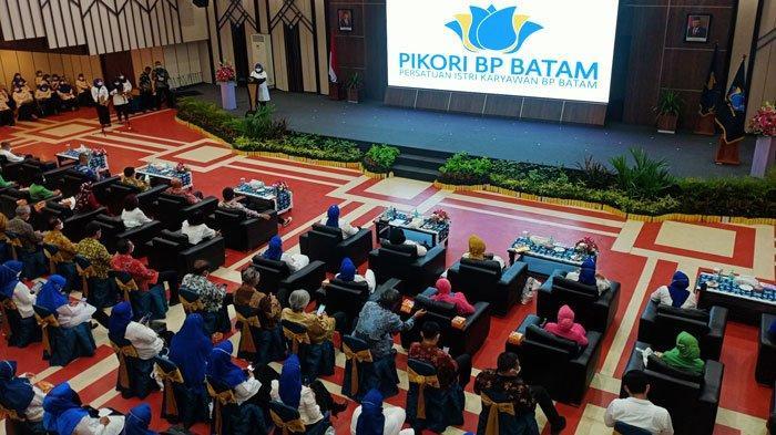 Kepala BP Batam Kukuhkan Pengurus Pikori BP Batam Periode 2021-2024
