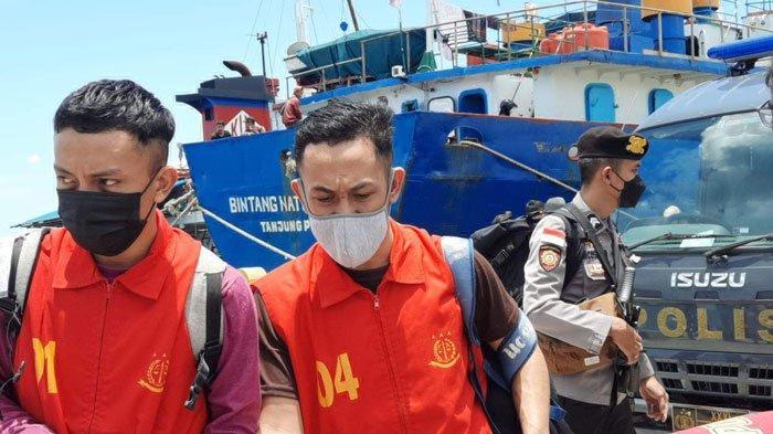 16 Tahanan Kejari Natuna Dikirim ke Tanjungpinang Via KMP Bahtera Nusantara 01