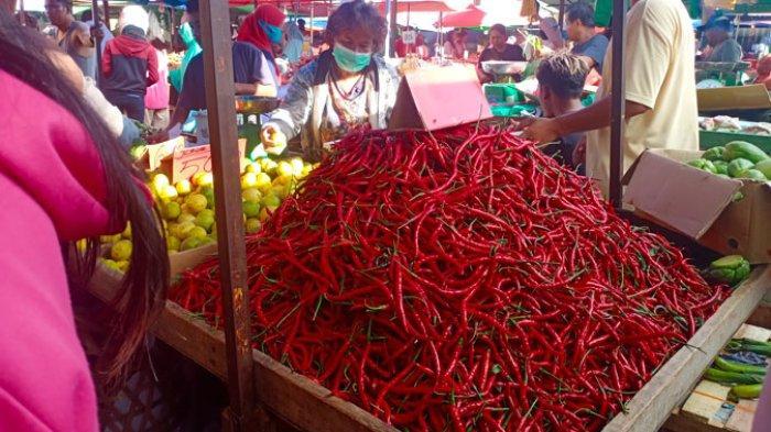 Daftar Harga Kebutuhan Dapur di Pasar Tos 3000 Batam Hari Ini, Sayur Turun Harga