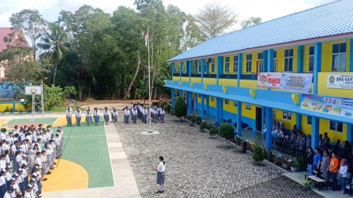 SMA Santa Maria Kota Tanjungpinang Gelar Sanmar Expo 2019, Ada Perwakilan Mahasiswa Luar Negeri