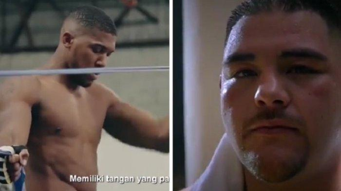 Live Streaming Anthony Joshua vs Andy Ruiz, Berebut Juara Tinju Dunia