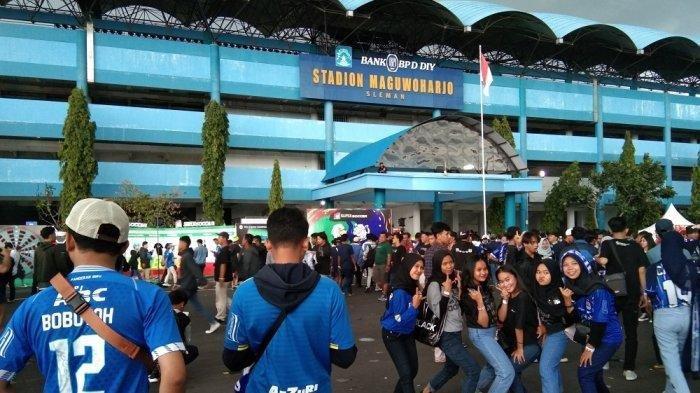 BERITA PERSIB - Bobotoh Siap Birukan Stadion Maguwoharjo Jelang Duel PSS Sleman dan Persib Bandung