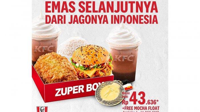 CATAT! Promo KFC Masih Berlaku Hingga 14 Desember 2019, Ada Juga Diskon JCO hingga Burger King