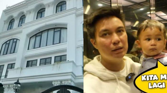 Baim Wong Terpana Lihat Kemegahan Rumah Artis Zaskia Sungkar dan Irwansyah: Gede Banget Nih!