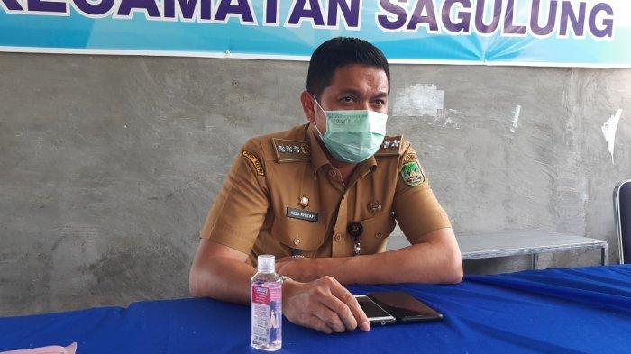 Kecamatan Sagulung Masuk 5 Besar Penyebaran Covid-19 Batam, Pasar Kaget Jadi Sorotan