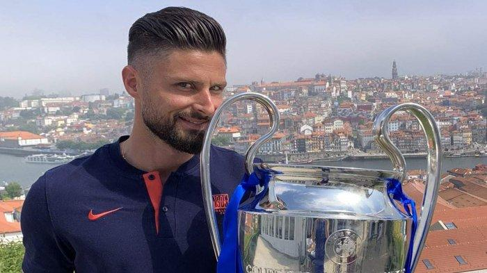 Transfer AC Milan, Dapat Lampu Hijau, Olivier Giroud Jadi Pindah ke AC Milan?