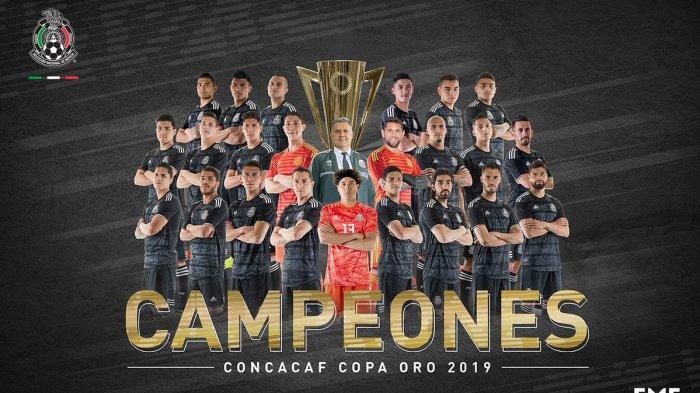 Hasil Final Gold Cup 2019, Gol Tunggal Jonathan Dos Santos Antar Meksiko Juara Gold Cup 2019