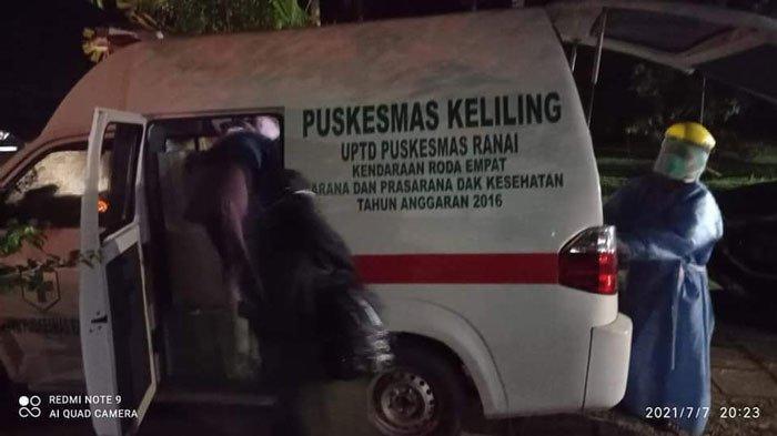Wakil Bupati Natuna Sedih, Anggota Keluarganya Diangkut Tim Satgas Covid ke Asrama Haji