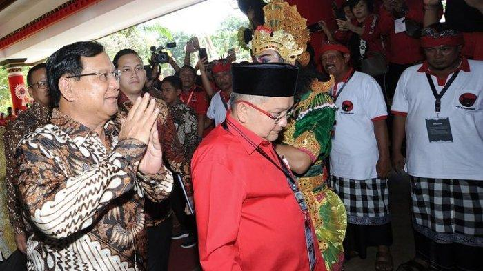 Lawan di Pilpres 2019, Mengapa PDIP Kini Mesra dengan Prabowo? Ahli Sebut Kabinet Jokowi