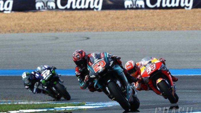 Jadwal Live MotoGP Jepang, Minggu, Selain Kalahkan Marquez, Fabio Quartararo Punya Dendam di Motegi