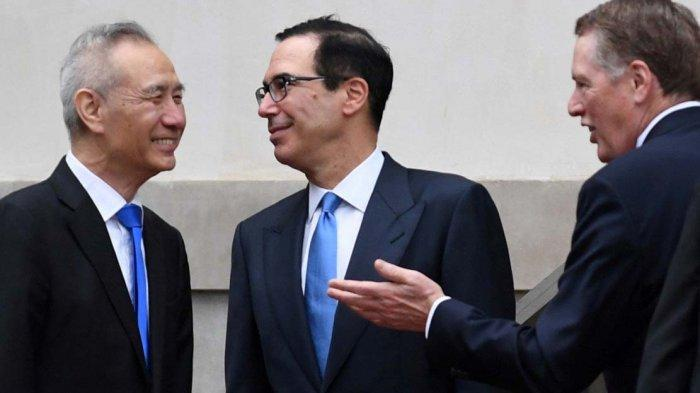 Bertemu dengan Wakil Beijing, Trump Beri Sinyal Positif Perundingan Dagang AS dan China