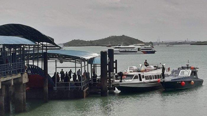 Penangkapan Kapal Rahmat Jaya 09 oleh Bea Cukai Batam, Loket Penjualan Tiket Sepi