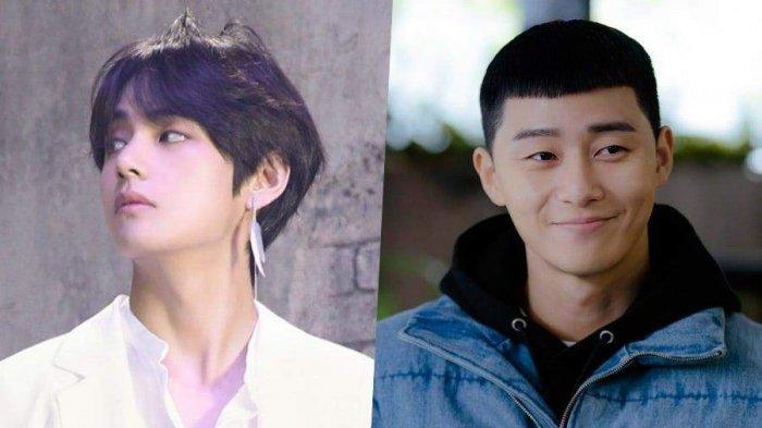 Dekat Sama Park Seo Joon, Kabarnya V BTS Akan Menyanyikan Soundtrack Drakor Itaewon Class
