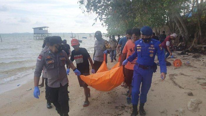 Pria Bertato Harimau Ditemukan Jadi Mayat di Tepi Pantai Desa Sebong Pereh Bintan