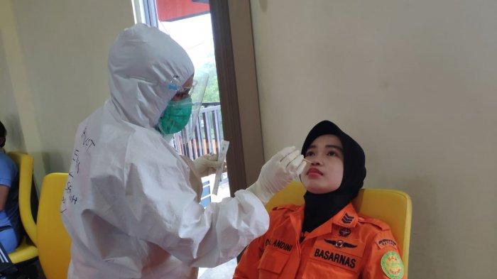 47 Personil KPP Natuna Jalani Tes Swab Antigen