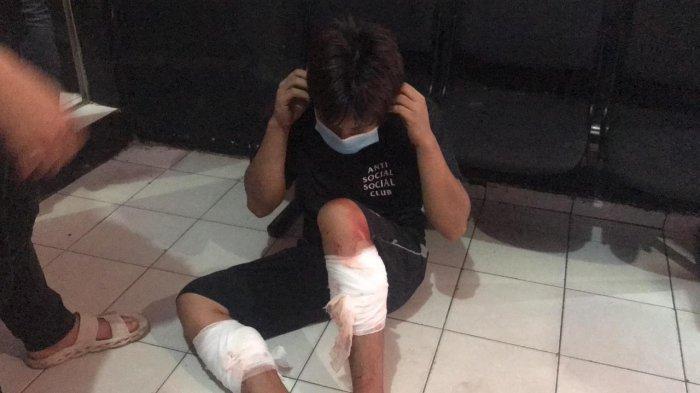 Syamsul Arifin (22) pelaku pembunuhan terhadap Qui Hong (60)