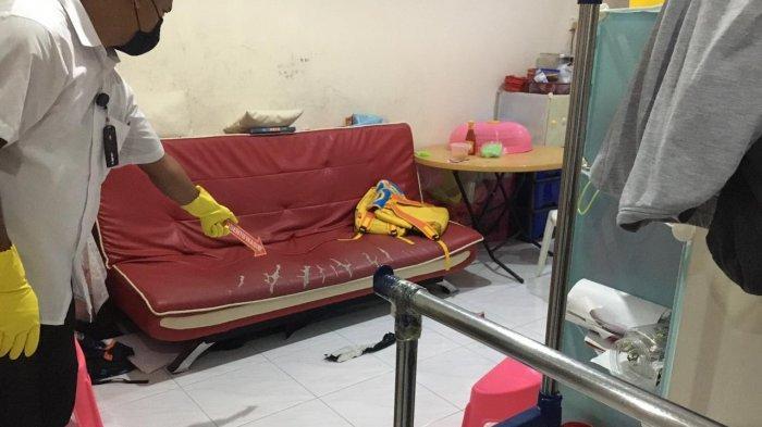 Lokasi pembunuhan Qui Hong